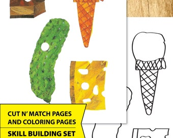 """Printable Activity Pages, Very Hungry Caterpillar   