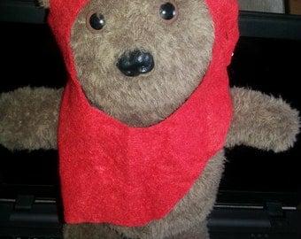 Crochet Ewok Inspired plushie/teddy
