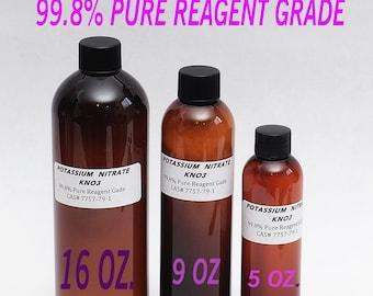 POTASSIUM NITRATE KNO3  99.8% Pure Reagent Grade Powder