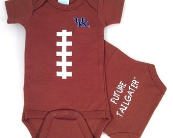 Kentucky Wildcats Future Tailgater Football Baby Bodysuit