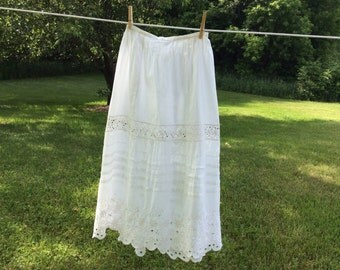 Vintage lace skirt #2