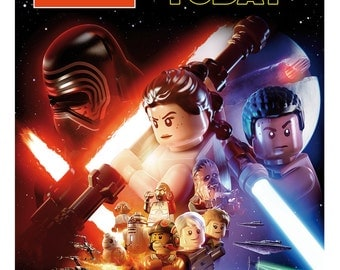 Lego Star Wars The Force Awakens Personalised Birthday Card (A5)