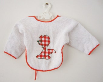 Vintage top which serves as a bib