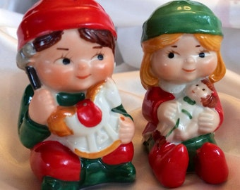 1983 Avon Elf Salt and Pepper Shakers