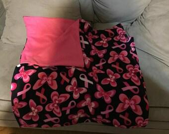 Breast Cancer Awareness Blanket
