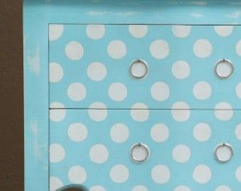 POLKA DOT Circles Spots Wall Furniture Craft Stencil - PD001