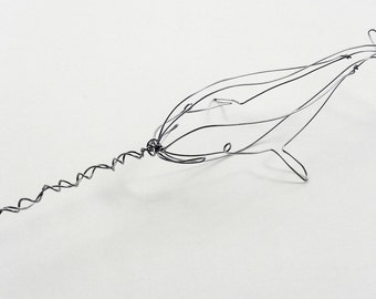 Wire Taxidermy Narwhal