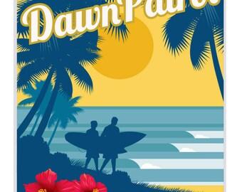 vintage travel poster vintage poster vintage surf poster. Black Bedroom Furniture Sets. Home Design Ideas