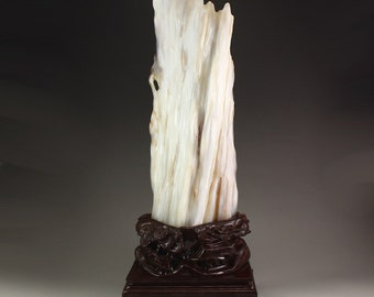 N3512 Chinese Natural Xylopal Original Stone Statue