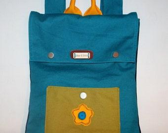 Canvas children backpack