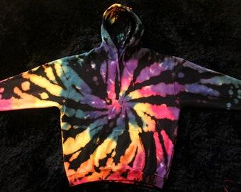 2XL Reverse Tie Dye Hoodie