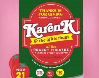 Karen K and the Jitterbugs // The Regent Theater, Arlington, MA
