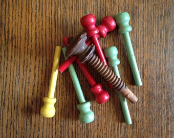 Wooden Peg Collection