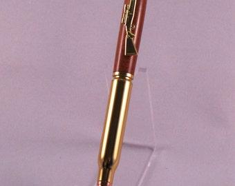 Walnut Inlay .30-06 Bullet Pen
