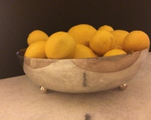 Silver plated Bowl by Marston Department Store Made in San Diego, CA