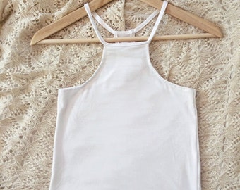 High Neck Tank tops