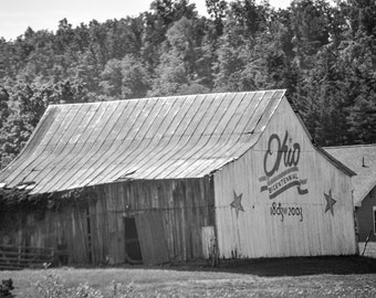 Ohio Bicentennial Barn Photograph
