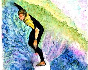 Bright Surfer