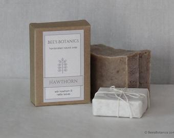 Organic Hawthorn Soap - Handmade Soap - Vegan Soap - All Natural Soap - Fragrance Free