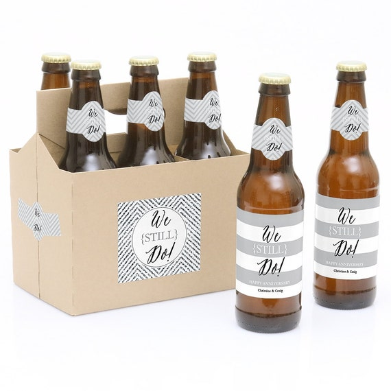 Custom Beer Bottle Labels Personalized Wedding By: Wedding Anniversary Beer Labels
