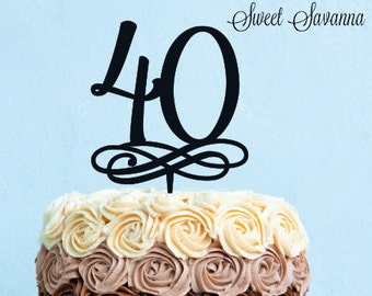 Number Cake Toppers - Any number available