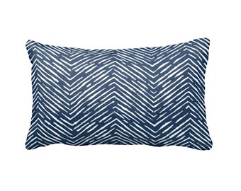 Navy Throw Pillow Cover Navy Blue Pillow Cover Navy Pillow Navy Lumbar Pillows Herringbone Pillows Decorative Pillows for Couch Pillows