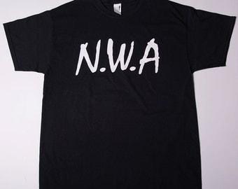 Vintage N.W.A 80s Hip Hop Rap Tshirt