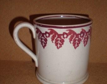 Antique Spongeware Mug.