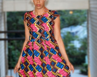 long dress kitenge tunic