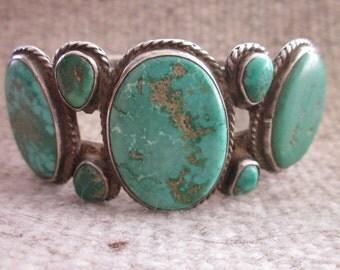 Exquisite Seven-Stone Native American Bracelet