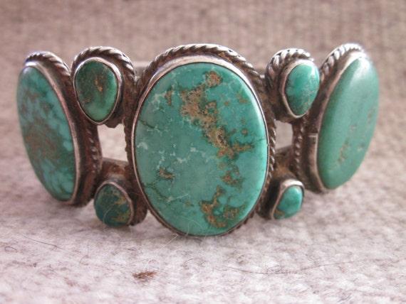 Exquisite seven stone native american bracelet for Exquisite stone