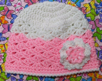 Spring Lacy Hat For Toddler Girls