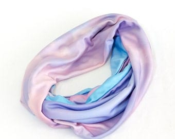 Sierra Clouds at Sunset Photo Infinity Scarves