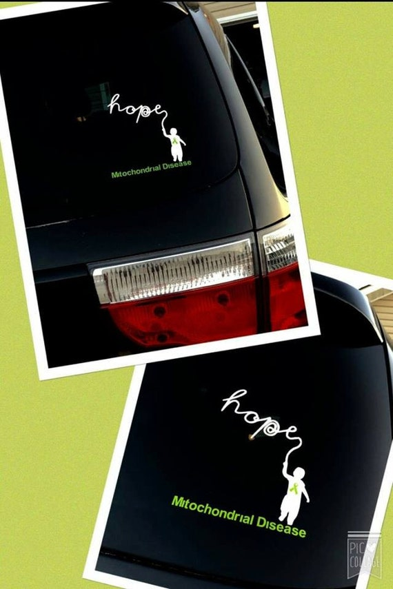 mitochondrial disease decal