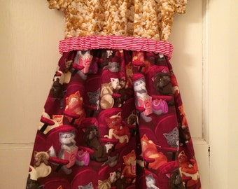 Cinema Kitty Dress