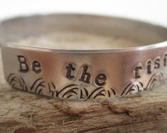 Be The Rising Tide Not The Anchor-Bracelet