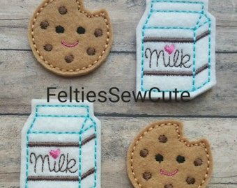 Milk and Cookie Felties.
