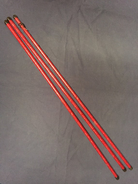 Red sparkle dots levi wand sparkly levitation wand flow wand for Levitation wand