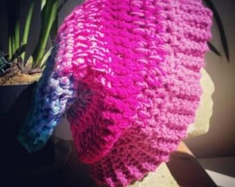Handmade crocheted beanie hat