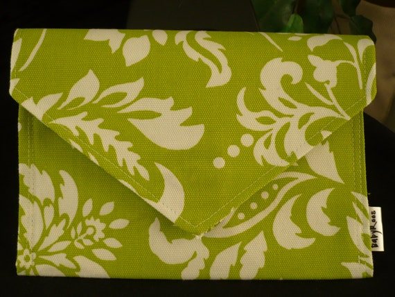 Bright Green Wallet/ Cell Phone Purse