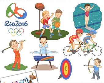 Summer Olympics Clip art