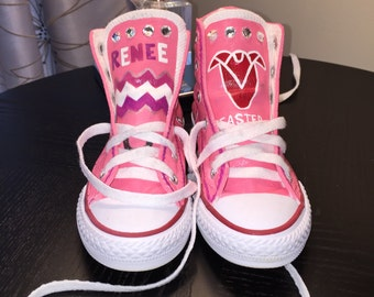 Personalized Hand Painted Gym Shoes