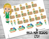 Girl Scout Stickers- Perfect for Planners