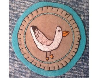 Seagull scavenger badge
