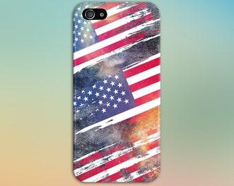 Metallic American Flags, Liberty Phone Case, iPhone 7, iPhone 7 Plus, Tough iPhone Case, Galaxy s8, Samsung Galaxy Case, Note 5, CASE ESCAPE