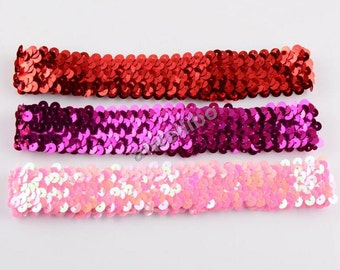 Elastic Sequin Headbands ,Baby Girl Hairband