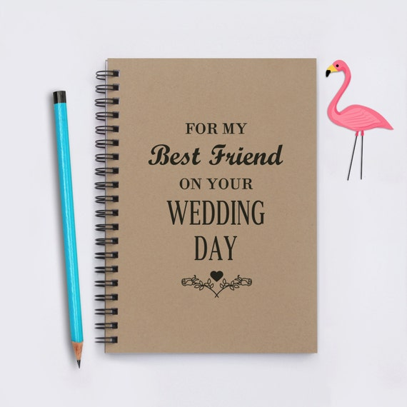 Best friend wedding gift, For My Best Friend On Your Wedding Day, 5
