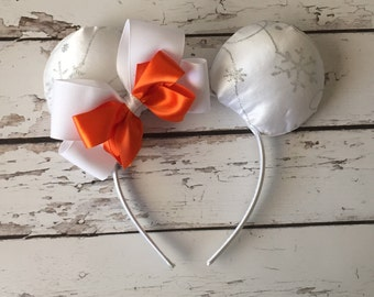 Olaf inspired ears, Frozen, Disneyland, Disney World, ears, Halloween