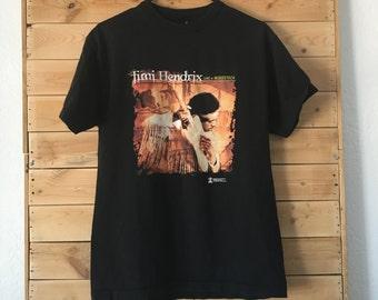 Vintage Jimi Hendrix Shirt // Live at Woodstock // Jimi Hendrix Live Shirt