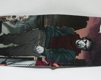 morbius vampire 2 - recycled comic book wallet - slim wallet - hanmade wallet - card holder - thin wallet - vinyl wallet - men's wallet